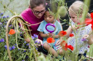 gardening benefits children